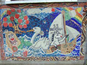 Holy Rosary - wall mosaic